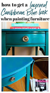 Two tone furniture painting Distressed Teal Furniture Paint How To Get Layered Blue Look When Painting Furniture Teal Painted Chairs Teal Furniture Paint Njcgaorg Teal Furniture Paint Chalk Inspiration Two Tone Furniture Paint Teal