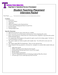 Examples Of Resumes For Highschool Students With No Work