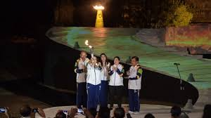 Hasil gambar untuk torch relay asian games 2018