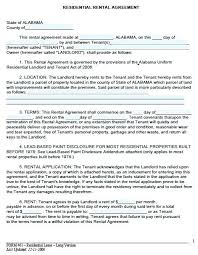 Flat Lease Agreement Template Free Download Rental On Yearly ...