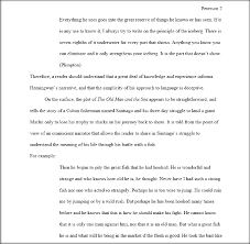 Literary Analysis Sample Paper