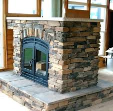 modular outdoor fireplace kit canada prefab kits prefabricated s wood burning gas burn nice