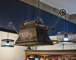 steampunk lighting. Industrial Steampunk Chandelier Steampunk Lighting