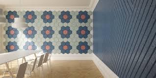 office wall tiles. Hexagon-wall-tiles-office Office Wall Tiles G
