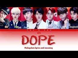 bts dope malam s and