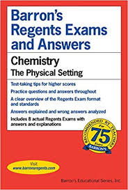 barrons s regents exams and answers chemistry the physical setting first edition edition