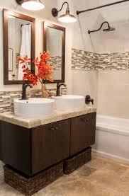 backsplash bathroom ideas. Amazing Tile Backsplash Bathroom With Cbdbdbbcf Ideas Transitional B