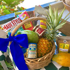 island fruit gift basket
