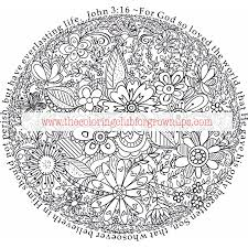 John 316 Free Coloring Page Preview The Coloring Club For Grown Ups