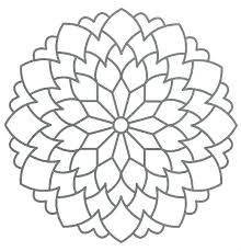 Free Printable Mandala Coloring Pages Adults Free Mandala Coloring