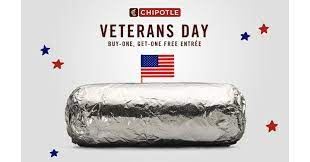 Chipotle Honors Active Military And ...
