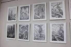 Выставка студенческих работ по предмету Рисунок в ННГАСУ