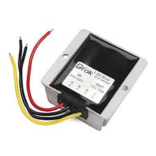 amazon com drok 120w 10a dc to dc waterproof club car voltage Club Car Voltage Regulator Wiring Diagram amazon com drok 120w 10a dc to dc waterproof club car voltage reducer, 24 60v 36v 48v to 12v buck converter step down voltage converter industrial & Club Car Voltage Regulator Location