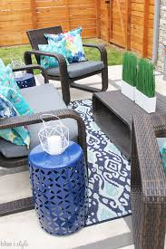 no sew way to reupholster outdoor cushions
