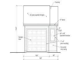 garage door sizeGarage Door Dimensions2 Car Dimensions Standard 2  venidamius