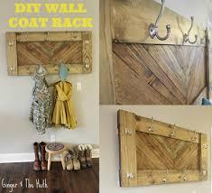 Diy Wall Coat Rack DIY Chevron Wall Coat Rack Using Scrap Wood 85