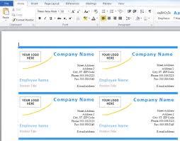 Microsoft Word 2007 Business Card Template Nfljerseyswebcom