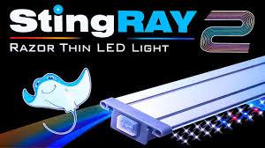Finnex Stingray Aquarium Led Light Finnex Stingray 2 Review Par Comparison With Stingray 1