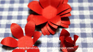 Chart Paper Flower Making How To Make Handmade Flower With Paper Shapers Youtube