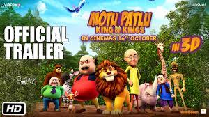 motu patlu king of kings in 3d official trailer in cinemas 14th october you
