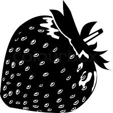 black and white strawberry clipart. Modren Strawberry Strawberry Black And White Clip Art 2 Intended Black And White Clipart S