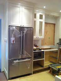 Counter Depth Refrigerator Only Counter Depth Refrigerator Dimensions Professional Vs Regular A