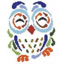 Art Deco Cross Stitch Charts Art Deco Owl 5