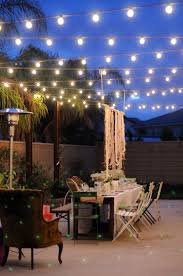 backyard string lighting. String Lights For Outdoors Outdoor Designs With Regard To Hanging Inspirations 15 Backyard Lighting