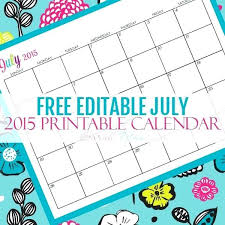 Fillable Calendars 2015 Editable Calendar Excel Editable Calendars Best Templates Images On