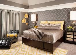 Cheerful Sophistication 40 Elegant Gray And Yellow Bedrooms Gorgeous Grey Bedroom Designs Decor