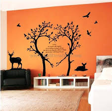 vinyl tree wall decals love tree wall decals vinyl tree wall art decals