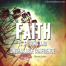 Christian Confidence Quotes Best Of Martin Luther Quote Faith ChristianQuotes