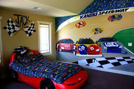 Race Car Bedroom Decorations Designs