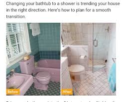convert bathtub to shower. Dated Bathtub Turned Shower Convert To U