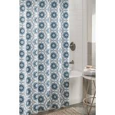 Brown And Aqua Shower Curtain Shop Shower Curtainsliners At