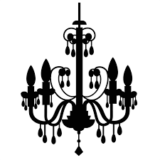 chandelier clip art library free on melbournechapter picture stock crystal chandeliers vector stock