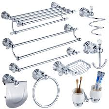 crystal bathroom accessories. modern clear crystal bathroom accessories sets silver polished chrome products solid brass hardware c