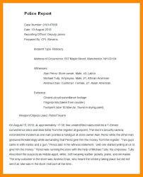 Incident Statement Report Template Ohs Incident Report Template Free