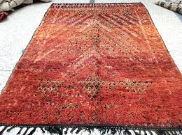 large red moroccan rug for at 5 2 red moroccan style rug