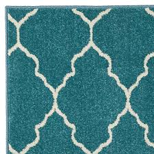 delectably yours decor decor plaza aqua indoor outdoor rug 5x8 or 8x10