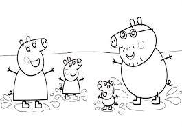 Famiglia Peppa Pig Al Mare Da Colorare Gif Animate Categoria