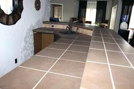 painting tile countertops brown tile on a bar before painting white for an updated look can painting tile countertops