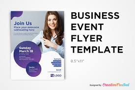 Event Flyers Free Free Business Event Flyer Template Creativepentool