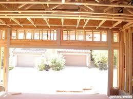 Framing For Garage Door Opening Wageuzi 12 Foot Garage Door