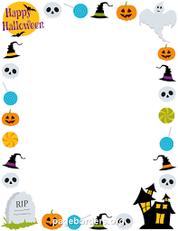 Free Page Border Templates For Microsoft Word Adorable Halloween Templates For Word Bino48terrainsco