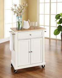 Kitchen Cart With Doors Kitchen Minimalist Kitchen Cart For Portable Island With Bottle