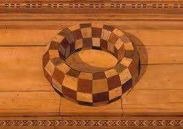 exquisite rot spalted wood and the lost art of intarsia the public domain review
