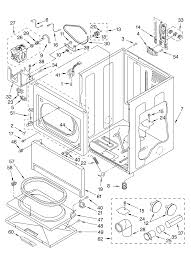 Model geq9800 1 residential dryer genuine parts rh searspartsdirect whirlpool dryer parts exploded whirlpool ultimate care ii washer parts diagram