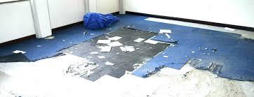 encapsulate asbestos tile floor tiles blue sealing encapsulating vinyl