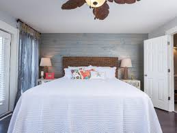 master bedroom feature wall: rustic chic master bedroom renovation from hgtvs beach flip rustic chic stains and master bedrooms